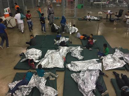 Teksas migranci USA uchodźcy