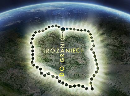 Różaniec do granic - logo
