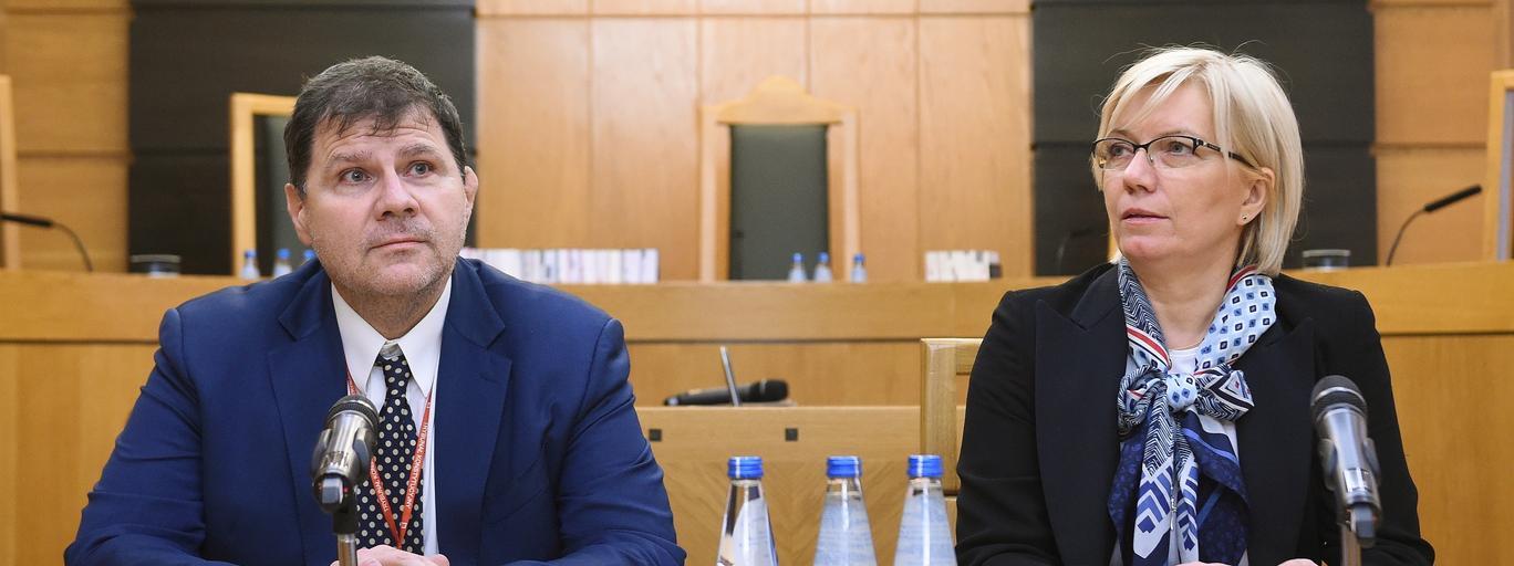 Julia Przyłębska, Mariusz Muszyński