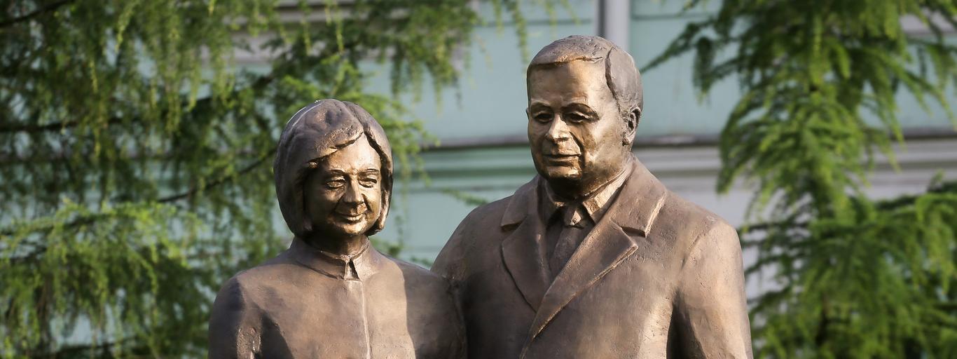 Pomnik Lecha i Marii Kaczyńskich