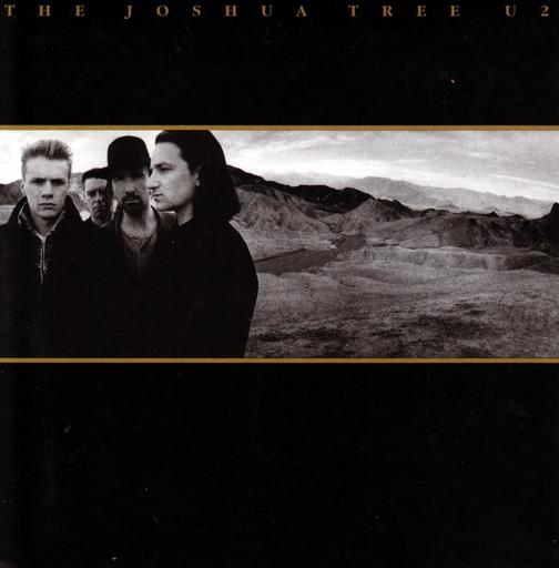 """Okładka płyty U2 """"Joshua Tree"""""""