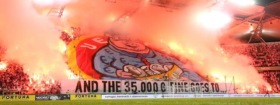 Kibice Legia Warszawa