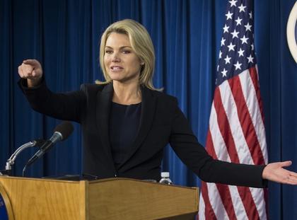 Heather Nauert rzeczniczka Departamentu Stanu USA