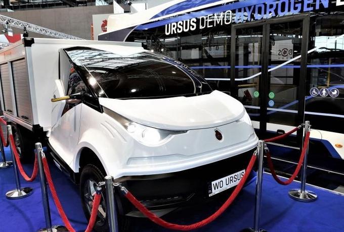 Polski Ursus zaprezentował nowy samochód. Zobaczcie jak wygląda ELVI