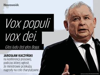 """""""Vox populi vox dei"""", czyli słowa, które mają ugasić pożar"""