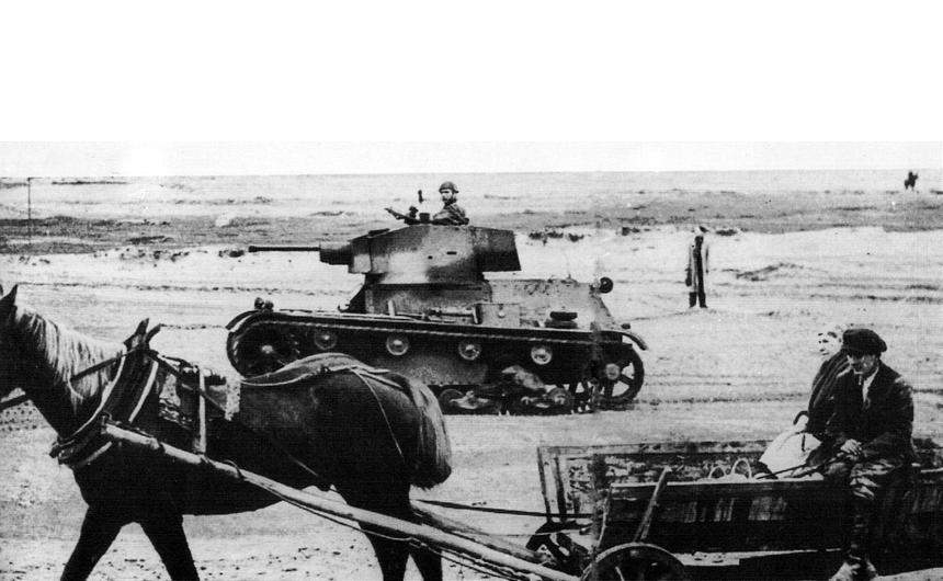 Wrzesień 1939 r. Czołg 7TP w akcji