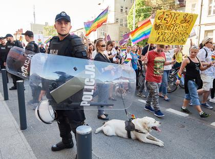 uczestnicy Marszu Równości