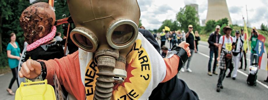 Protest przeciwko funkcjonowaniu elektrowni Tihange