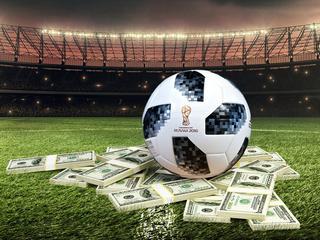 Piłka pieniądze Fifa mundial