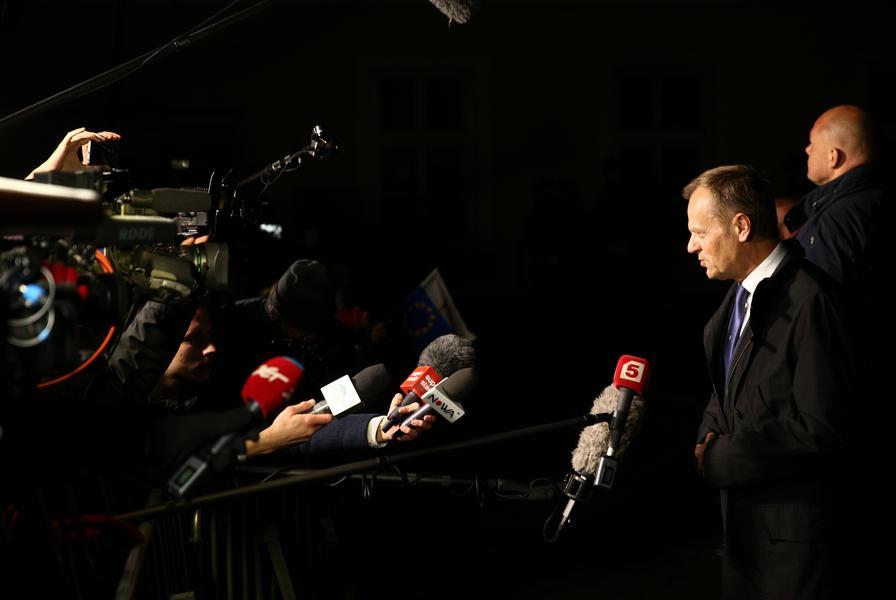 Donald Tusk przed prokuratura