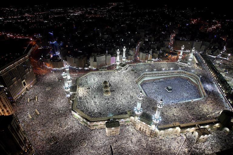muzułmanie mekka hadżdż pielgrzymka do Mekki