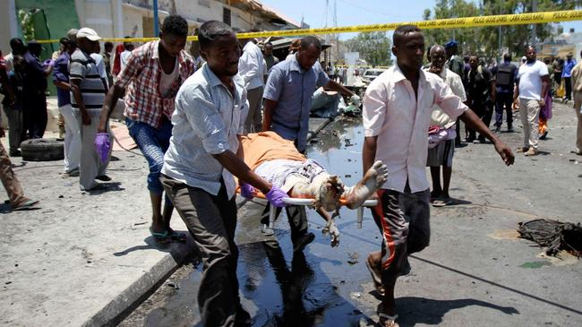 At least five killed in Mogadishu explosion