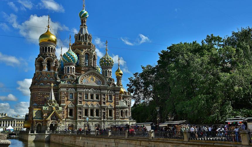 cerkiew sankt petersburg rosja