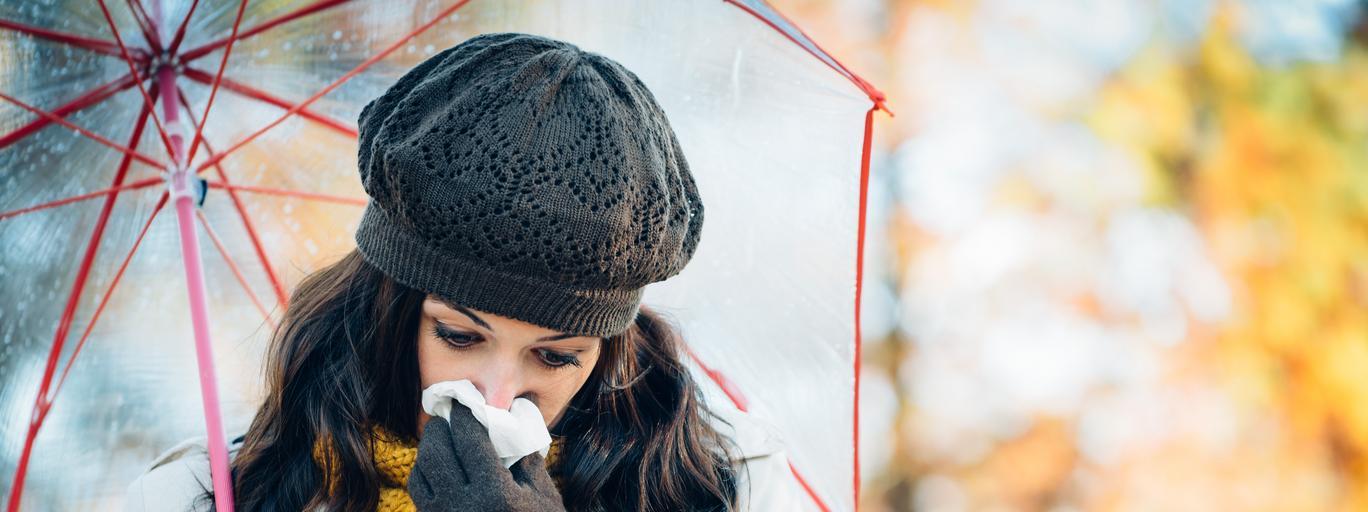 Depresja jesienna, choroba, kobieta
