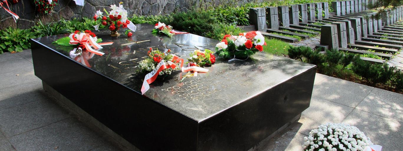 Cmentarz na Rossie Józef Piłsudski Wilno
