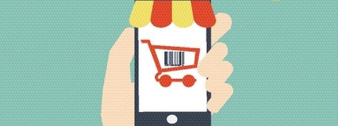 zakupy, e-zakupy, smartfon