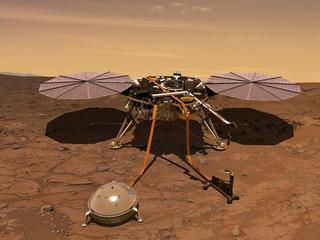 NASA zbada wnętrze Marsa. Startuje misja, w którą ogromny wkład wnieśli Polacy