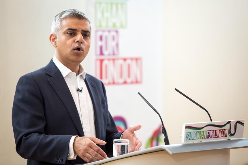 Sadiq Khan, kandydat labourzystów