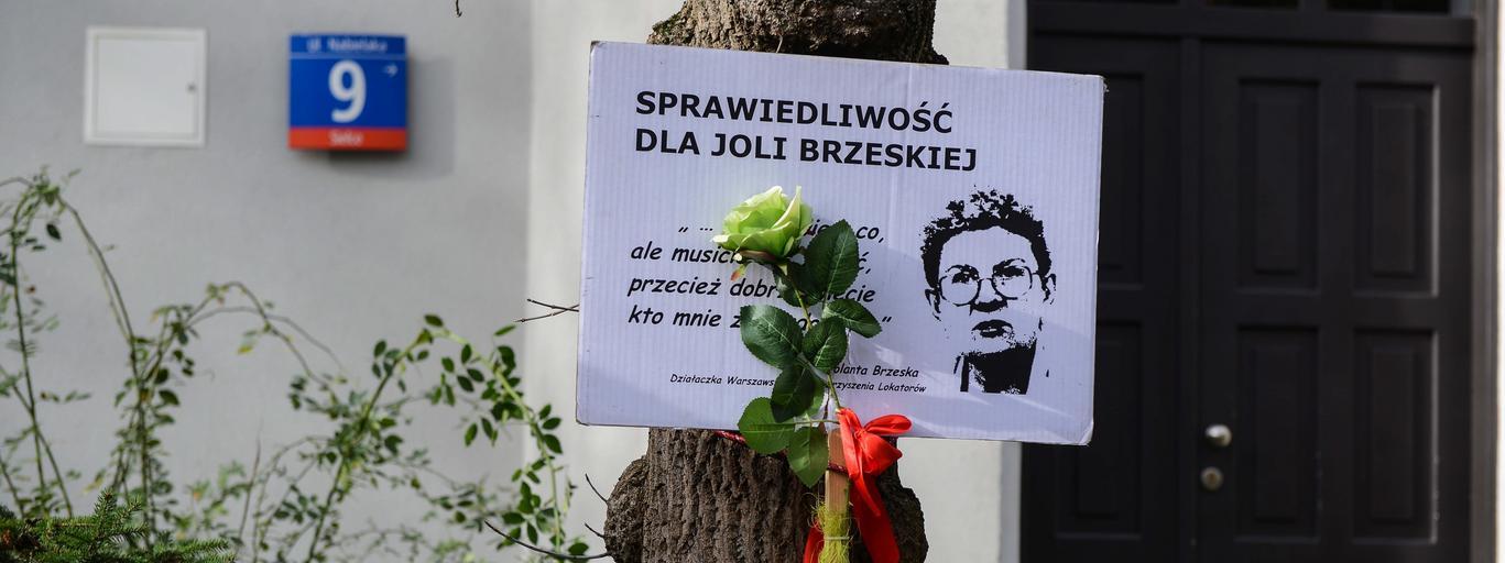 Reprywatyzacja Nabielaka 9 Jolanta Brzeska Warszawa