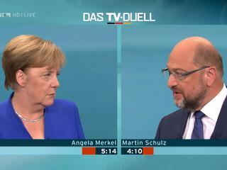 Polska, Węgry i uchodźcy. Merkel debatowała z Schulzem