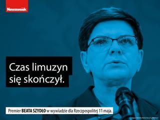 """""""Nie"""" dla imigrantów, zdrajcy Polski, koniec z limuzynami"""
