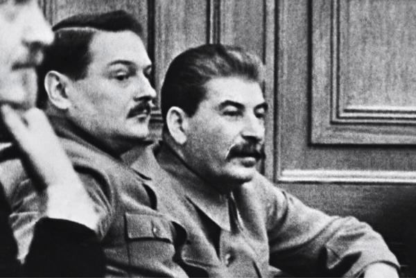 Żdanow i Stalin