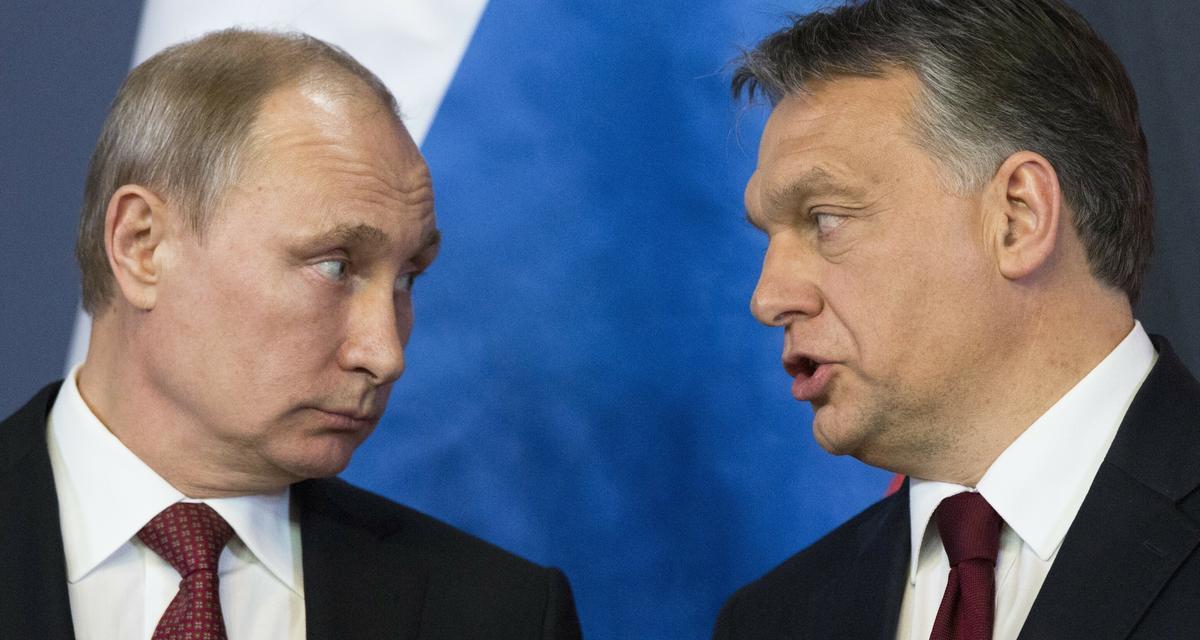 Putin Orbán dwabratanki