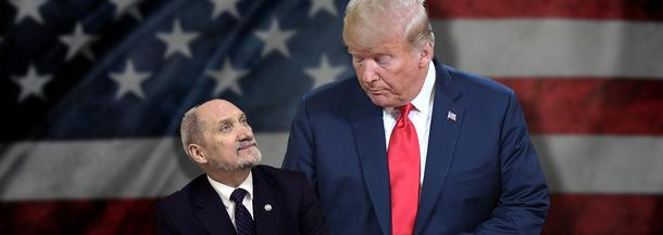 Antoni Macierewicz i Donald Trump