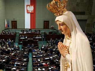 PiS postawił na swoim. Sejm uczci rocznicę objawień