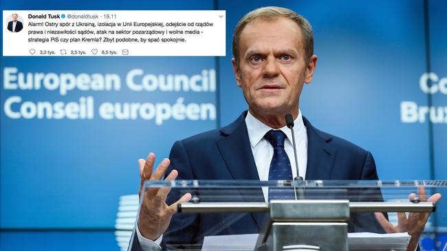Donald Tusk Second day of European Council Meeting in Brussels