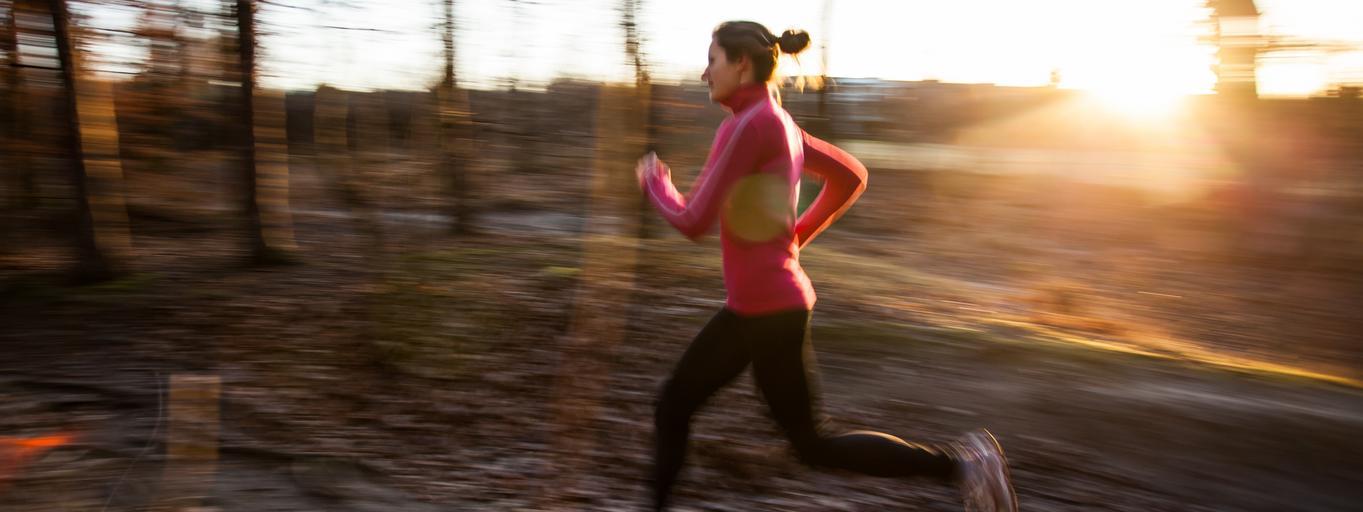 bieganie biegaczka bieg kobieta