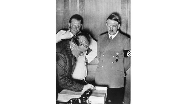 Édouard Daladier i Adolf Hitler