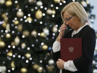Dlaczego PiS milczy w sprawie wywiadów sędzi Przyłębskiej?
