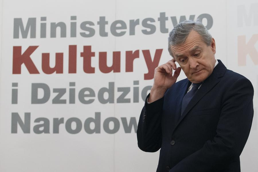Piotr Gliński, ministerstwo kultury