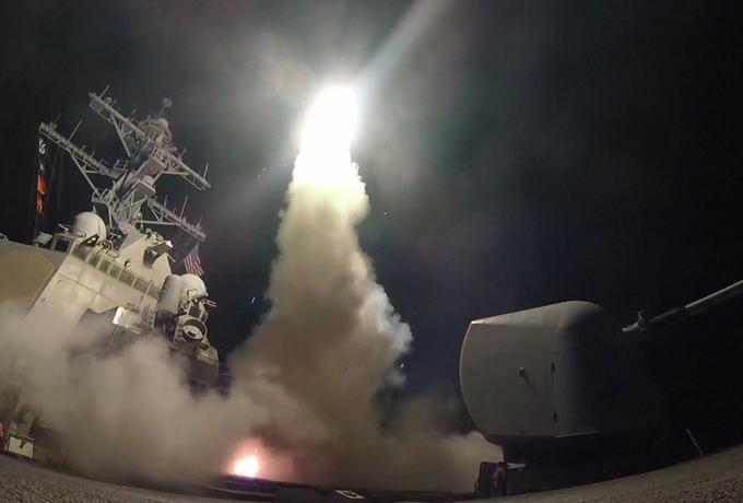 Amerykanie zaatakowali Syrię [WIDEO]