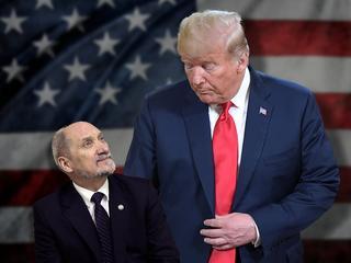 Znalazł się człowiek, który chwali Trumpa za złożenie hołdu Putinowi. To Antoni Macierewicz