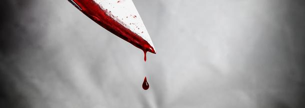 nóż krew morderstwo zbrodnia przestępstwo