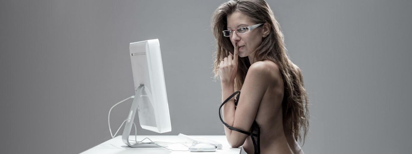Kobieta seks komputer