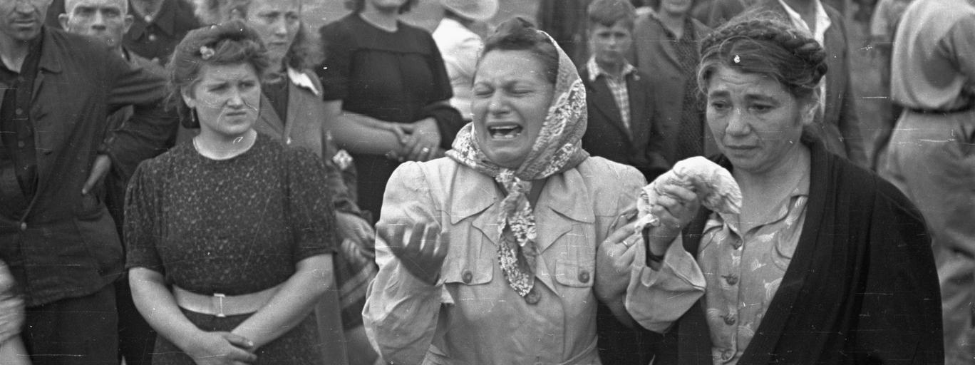 Pogrzeb ofiar pogromu kieleckiego