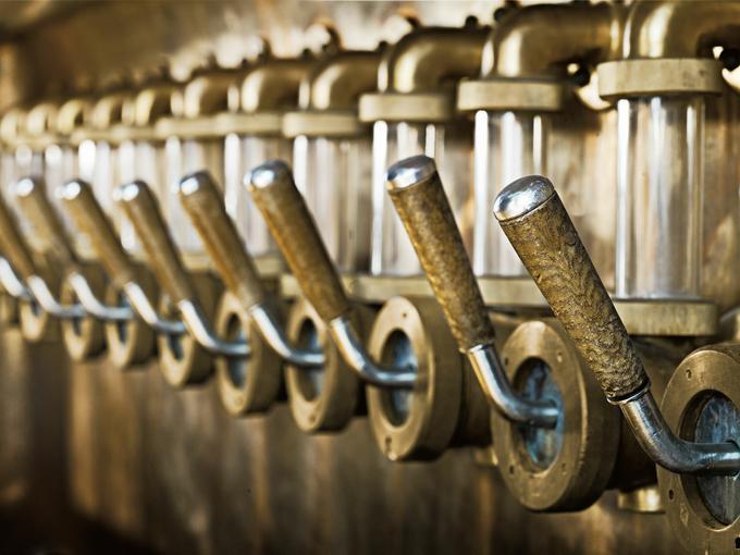 Korytko Granta służyło piwowarom do sprawdzania klarowności brzeczki piwnej.
