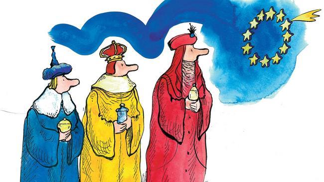 Targowica, Unia Europejska, prawica