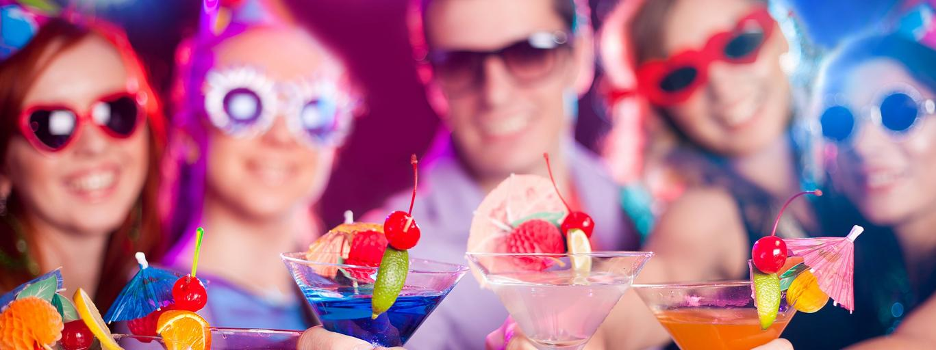 sylwester, impreza, zabawa, drink