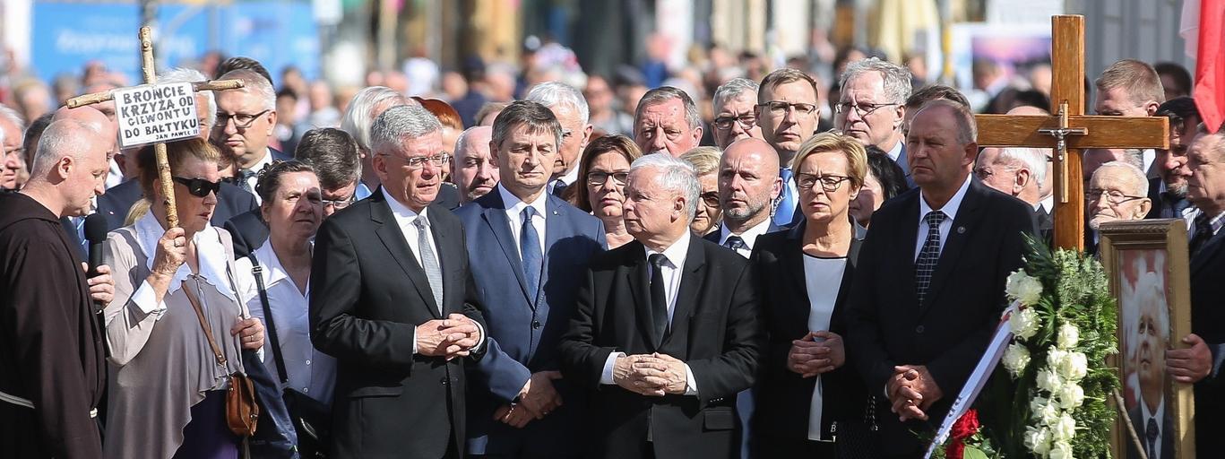 Stanisław Karczewski, Marek Kuchciński, Jarosław Kaczyński