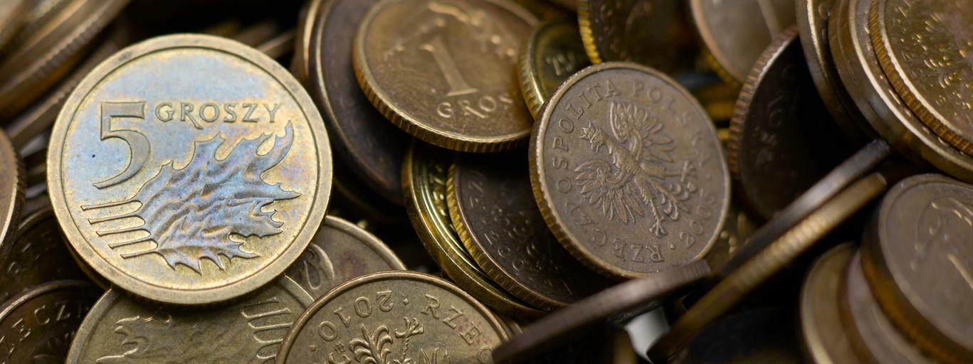 Drobne polskie monety
