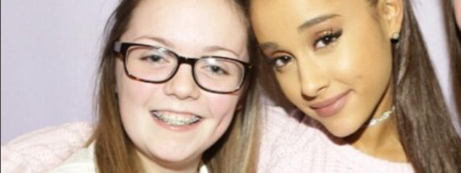 Ariana Grande i Georgina Callander