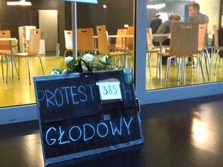 Protest głodowy rezydentów