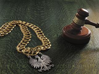Sąd Najwyższy sądy łańcuch młotek