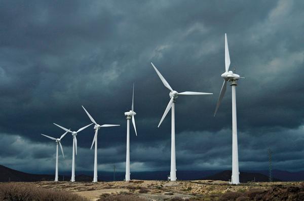wiatraki, energia odnawialna