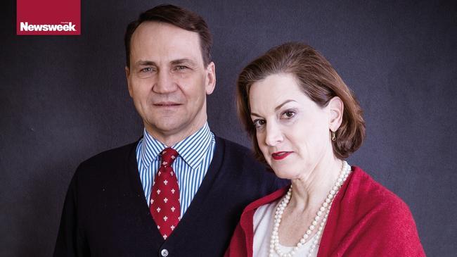 Radosław Sikorski Anne Applebaum polityka