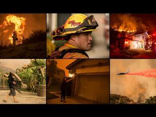 Kalifornia walczy z ogniem